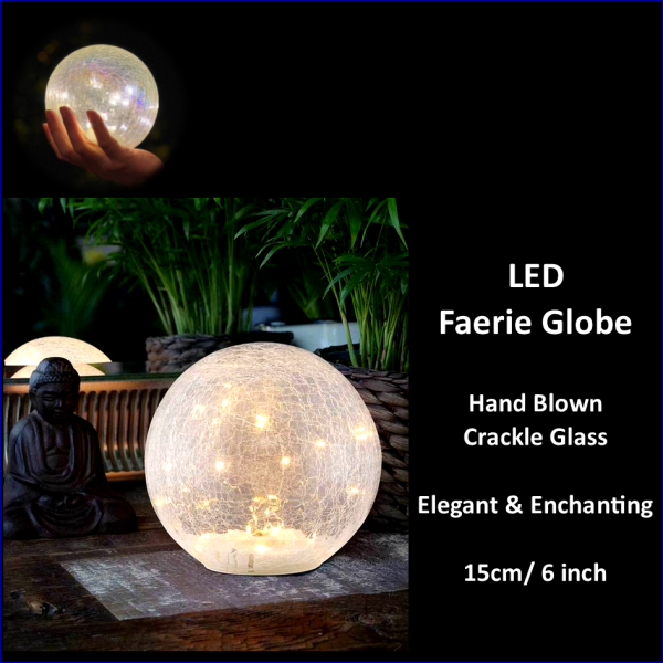 Lamp LED Faerie Globe