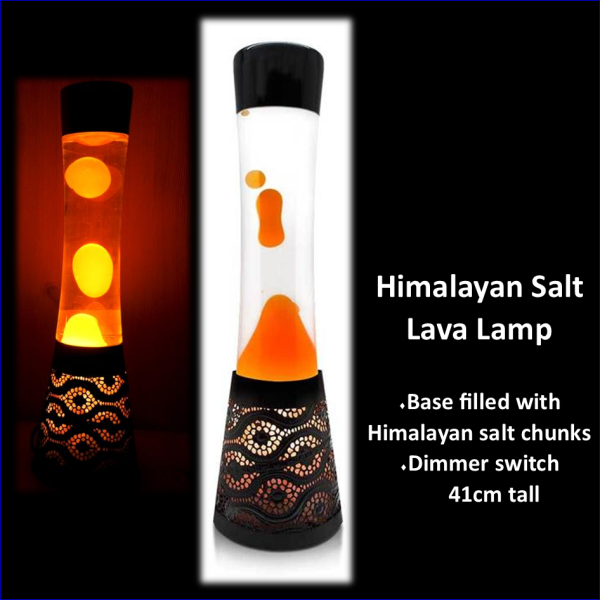 Lava Him Salt Lamp